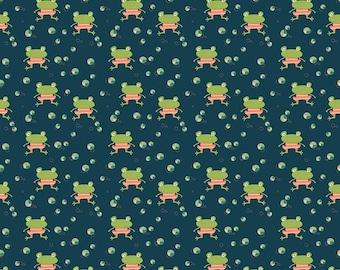 Riley Blake - Ready set splash Deepsea Frogs C9892 - Fabric - Sandy Gervais