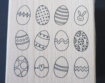Easter Egg Stamp - Stamp Collections