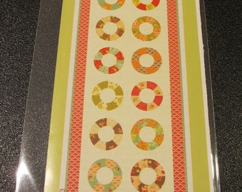 Life Saver Tablerunner Pattern by Fig Tree and Co