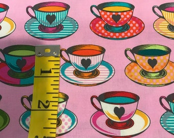Curiouser And Curiouser - Tea Time Wonder-Tula Pink -  PWTP163