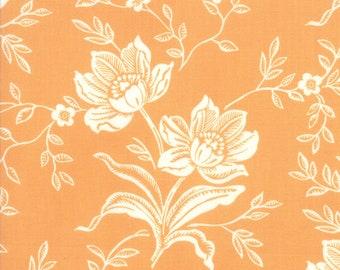 Moda - Fig Tree Co  - All Hallows Eve 2035011 - 20350 11 Seasonal Halloween Woodblock Floral Orange