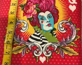 Curiouser And Curiouser - The Red Queen wonder - Tula Pink -  PWTP160