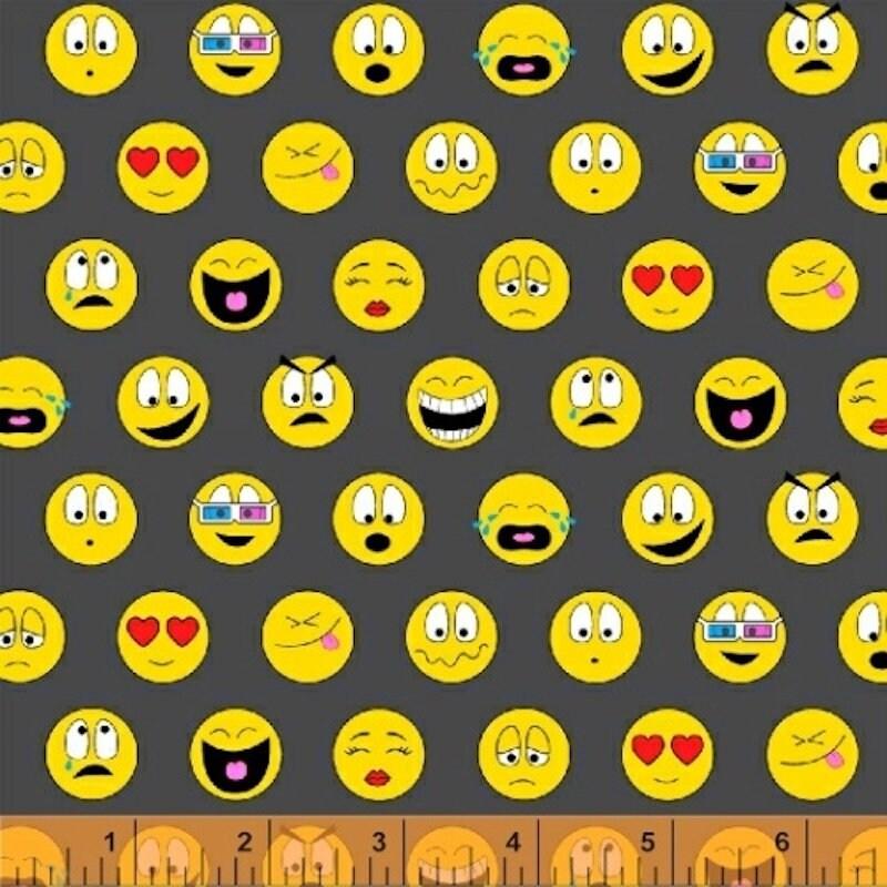 Windham Fabrics - Textme Back - Text Me Back Emoji