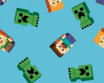Springs Creative - Minecraft Friends # 672536510715P - Video Game Fabric
