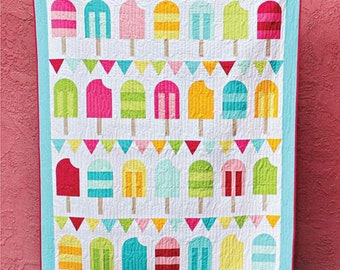 Hello Melly Designs Popsicle Parade Quilt Pattern 104