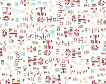 Ho Ho Ho Christmas Fabric