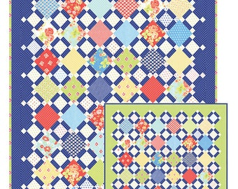 Charm Pack Picnic -  Fig Tree Quilts -  FT 1555 - Pattern