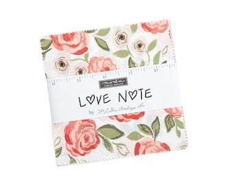 Love Note Charm Pack Moda Precuts by Lella Boutique