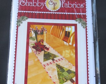 Patchwork Christmas Tree SF 48635 Shabby