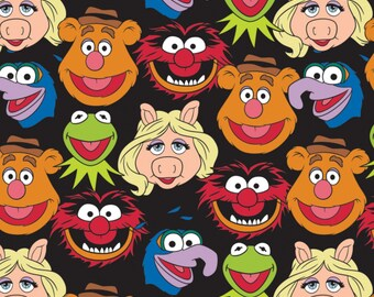 Black Disney The Muppets Cast # 85320101-2