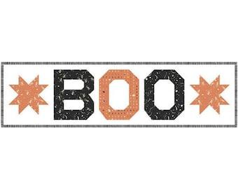Boo Table Runner Kit -  for Riley Blake KTB20370 - Happy Haunting Table Runner Kit