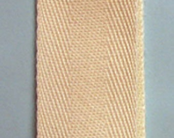 """1 Inch Wide Twill Tape - Cotton Twill Tape 1"""" Ivory CTT100 825 Trim Trends - 1, 5 Or 10 Yards"""