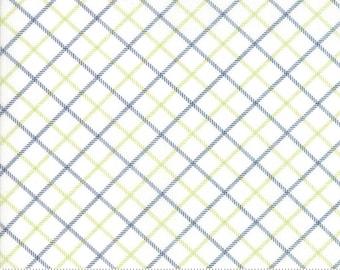 Bonnie Camille Smitten Fabric -Bias Plaid Navy 5517527