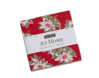 Bonnie And Camille At Home Charm Pack 55200 PPB 5 Inch Squares