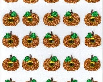 Jolees Boutique Pumpkin Stickers - 25 Pcs - eksuccess