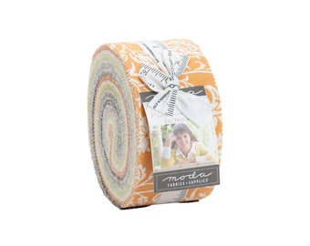 Fig Tree Fabric - Pumpkins And Blossoms Jelly Roll