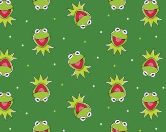 White Disney The Muppets Kermit the Frog  85320102-2