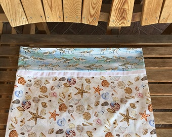Pillowcase - Coastal Themed Pillowcase - Coastal Paradise
