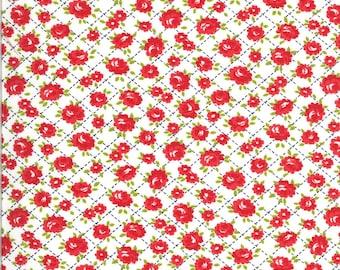 Bonnie Camille Shine On Fabric - Shine On Roses White - 5521420 - 55214 20