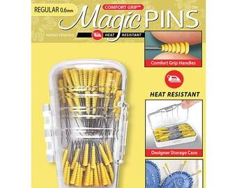 """Magic Pins - Appliqué Pins - 100 pins 1 """"  Regular 0.6mm - Taylor Seville - Comfort Grip"""