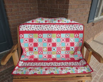Homemade - Lil Red Quilt