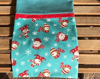 Christmas Novelty Pillowcase - Snowman Themed
