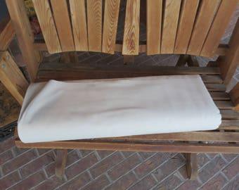 """Duck Canvas 9-10oz 58/60"""" 100% Cotton  - Natural"""