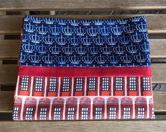 Novelty Pillowcase - British Themed / England Pillowcase / U.K - From London With Love - Telephone Box
