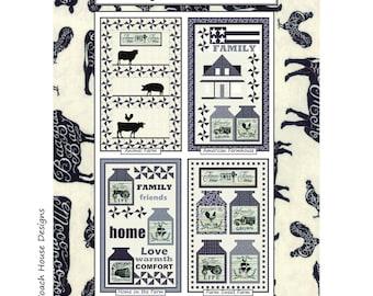 Homegrown Banners CHD 1711 Coach House  Designs Pattern