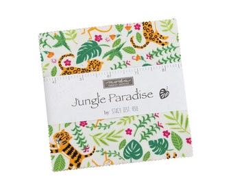 Moda Stacy Iest Hsu - Jungle Paradise Charm Pack 20780PP Moda Precuts
