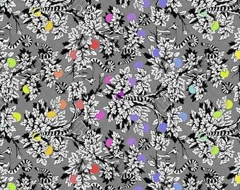 Linework -Tula Pink -   Lemur Me Alone - Ink -  PWTP154.INK