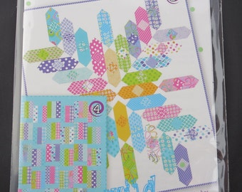 Jelly Rolls 3 & 4  - Me and My Sister Designs Quilt Pattern