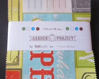 Moda - Garden Project Charm Pack