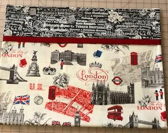 Novelty Pillowcase - British Themed / England Pillowcase / U.K