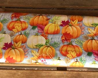 Wilmington Prints, Happy Gatherings - pumpkins -  32053 980 by Lola Molina f