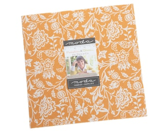 Fig Tree Fabric - Pumpkins And Blossoms Layer cake