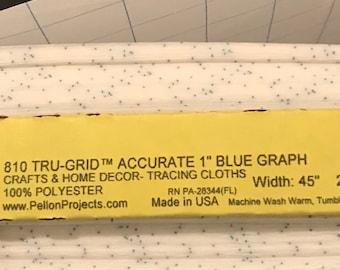 "Pellon 810 Tru Grid 1 inch Graph - 810 - Width 45"""