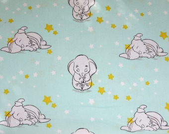 """End of Bolt -  Disney-Dumbo Sweet Dreams 43/44"""" Wide 100% Cotton  - Starry"""