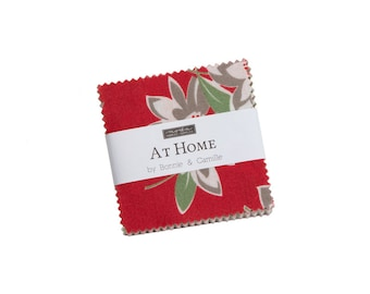 Bonnie And Camille At Home Mini Charm 55200 MCB  2.5 Inch Squares