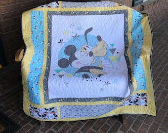 The Mouse - Homemade  Quilt