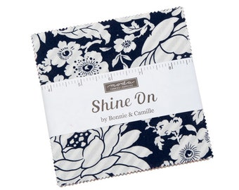 Bonnie And Camille Shine On  Charm Pack  5 Inch Squares - In Stock