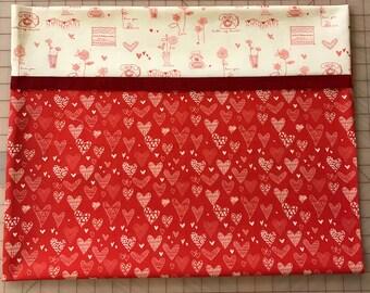 Novelty Valentine Pillowcase /Heart Pillowcase - From The Heart 2