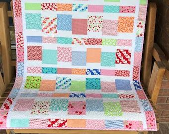 Badda Bing  - Homemade  Quilt