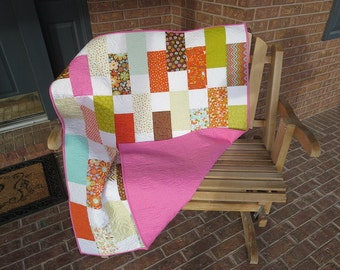 Homemade - Wrens And Friends - Lap / Baby Quilt
