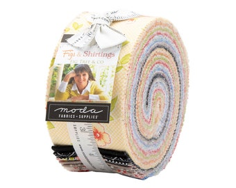 Fig Tree Fabric -Figs and Shirtings Jelly Roll