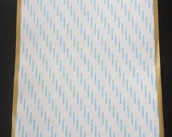 "Scor-Tape 8.5"" x 11"" Adhesive Sheets - 5 Sheets Per Pack"