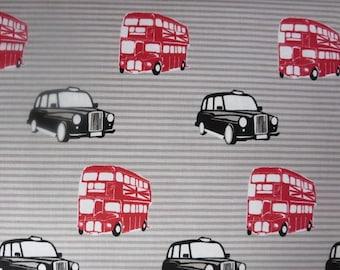 British Invasion Taxi Cream - By Riley Blake