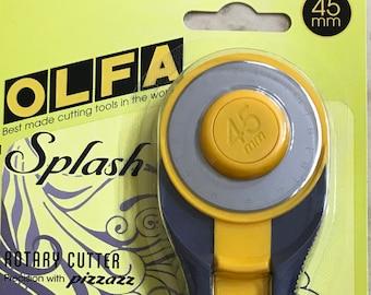 Olfa Splash 45mm Rotary Cutter - Navy
