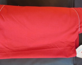 """Moda - 16"""" Solid Toweling Christmas Red 920 220 Moda Toweling"""