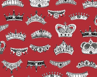 LONDON by Whistler Studios -  Windham Fabrics  - 52346-2   -Crowns